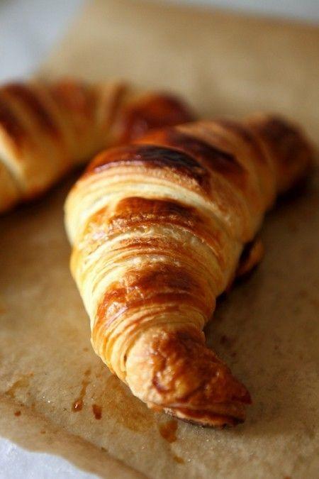 Croissants au levain et comment réaliser un levain facilement! (Sourdough Croissant) croissant parfait