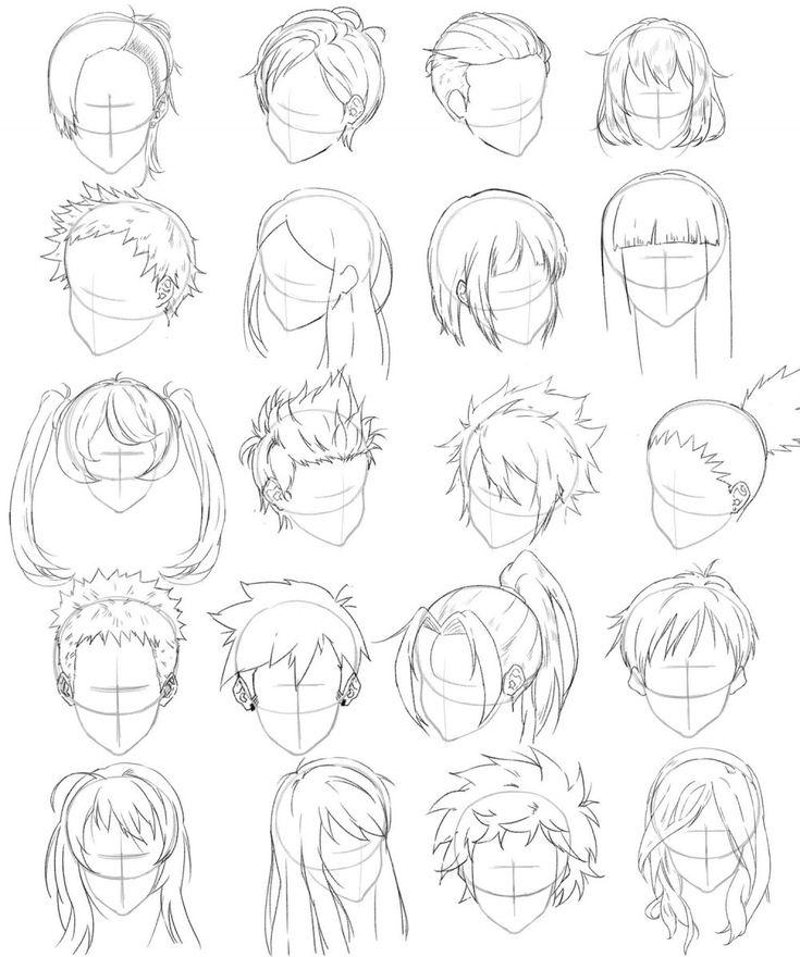 Spécial Coupe De Cheveux Dessin Manga Coupe De Cheveux Manga Of Étonnant 25 Co…