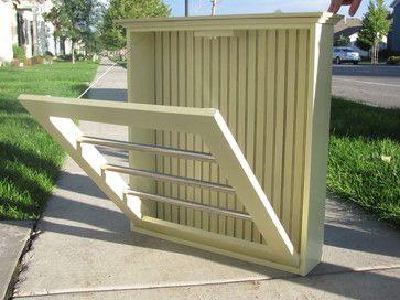 Drying racks - craftsman - dryer racks - salt lake city - Quadstar Design
