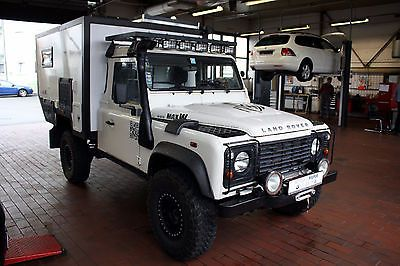 land rover defender 110 pick up s maxw wohnkabine lkw zul als gel ndewagen pickup in n rnberg. Black Bedroom Furniture Sets. Home Design Ideas