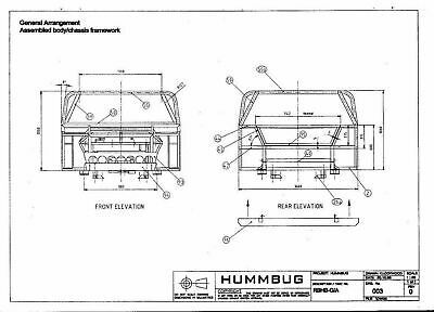 THE HUMMBUG Build Manual. Buggy, dune buggy, sandrail