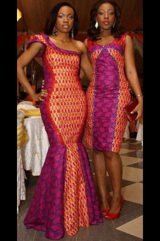 Which Ankara dress would you go for? Both beautiful!