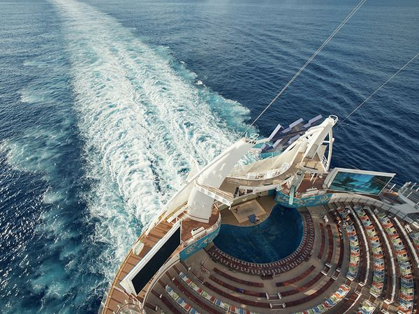 Leaving other vacations in our wake. #allureoftheseas #cruise