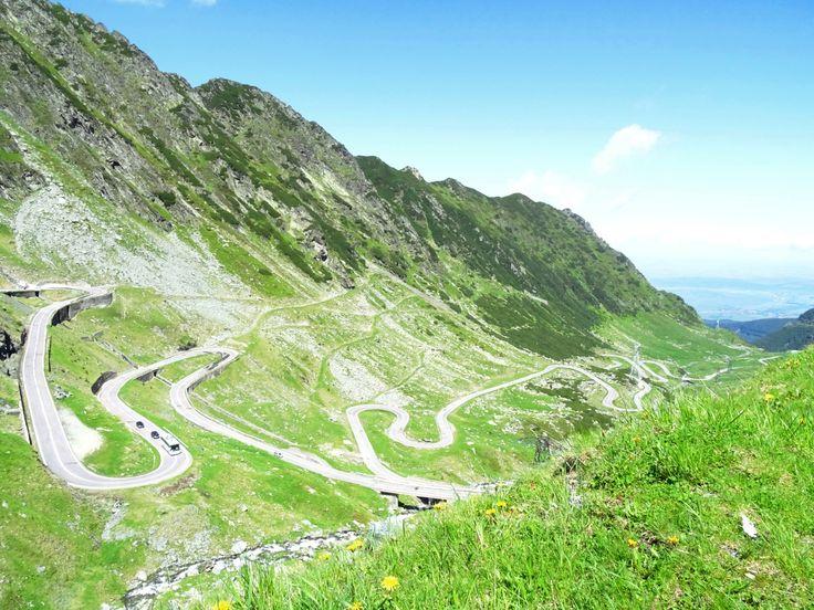 Una de las carreteras más bonitas del mundo: la Transfagarasan.