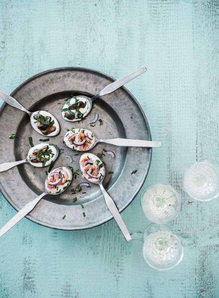 Savusimpukka-cocktailpalat | K-ruoka #joulu #pikkujoulu