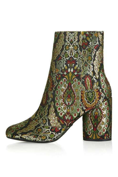 HARRY Jacquard Ankle Boots Top shop £65 kimmillerstyles.co.uk