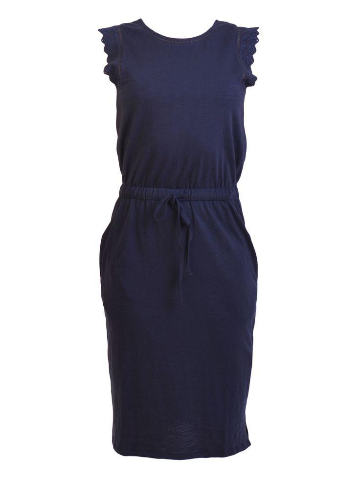 JAG - Lace Trim Tee Dress