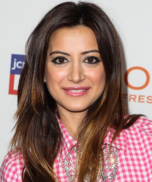 Noureen DeWulf Hairstyle - Casual Long Straight Hairstyle