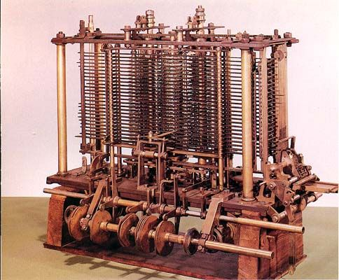 Joseph Marie Jacquard's Loom Analytical Engine (early-19th century).