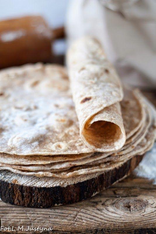 Gotowanie i pieczenie - I love it .: Domowe placki tortilla z mąki pełnoziarnistej