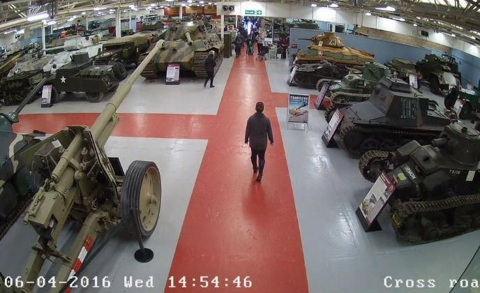 Hikvision's IP PTZ cameras secure The Tank Museum