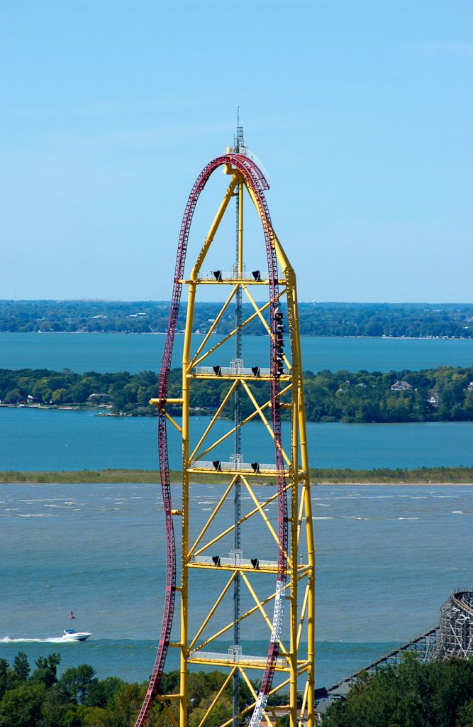I love everything about Cedar Point! This one made my heart stop for just a second . . . . loved it.