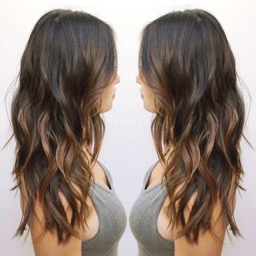 Asian+Balayage+hairstyle+for+long+hair