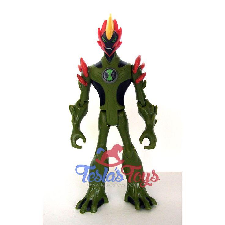Ben 10 Alien Force Action Figure - Swampfire (Loose), 11.99  #actionfigure #ben10 #ben10alienforce #swampfire