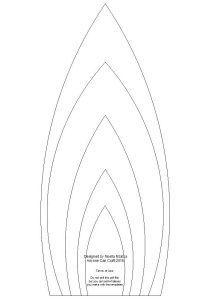 cone shaped petals