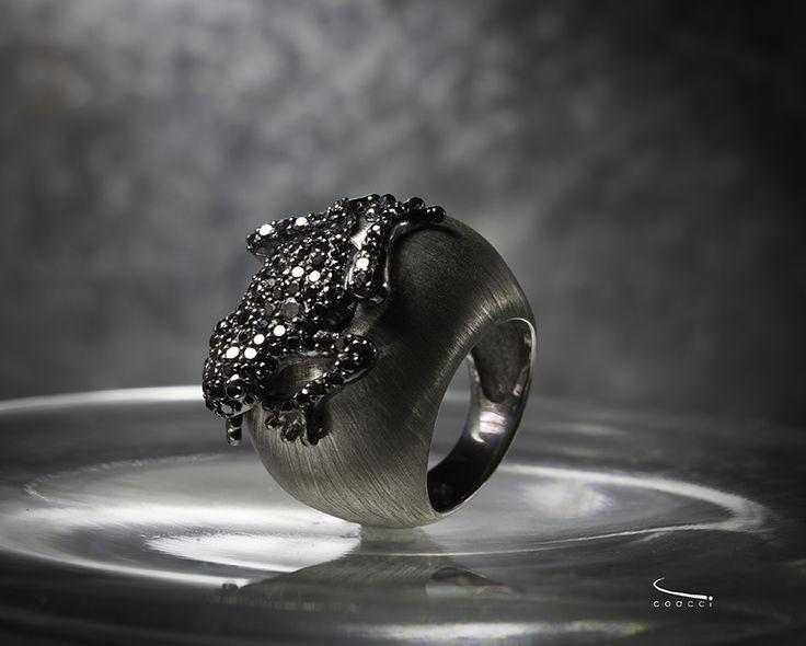 Ricardo Coacci ~Black Gold, Black Diamonds and Silver.