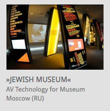 AV System Integration, interactive Exhibits @ Museum of Jewish History, Moscow (Russia) // www.kraftwerk.at