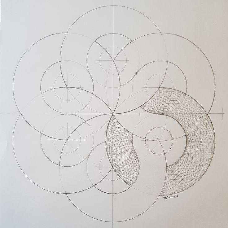 #torus #geometry #symmetry #hexagon #handmade #mathart #regolo54 #triangle #torso #evolution #progression