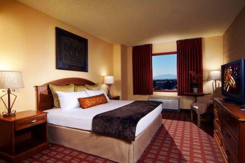 Fiesta Rancho Casino Hotel - Situé à North Las Vegas, à quelques minutes en voiture de l'autoroute et du Strip, le Fiesta Rancho Casino Hotel dispose d'un casino, d'une patinoire et de restaurants sur place.  Il possède également une piscine extérieure. Adresse Fiesta Rancho Casino Hotel: 2400 North Rancho Drive NV 89130 North Las Vegas (Nevada)