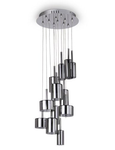 Large Oscar Blown Glass Pendant Ceiling Light - Marks & Spencer