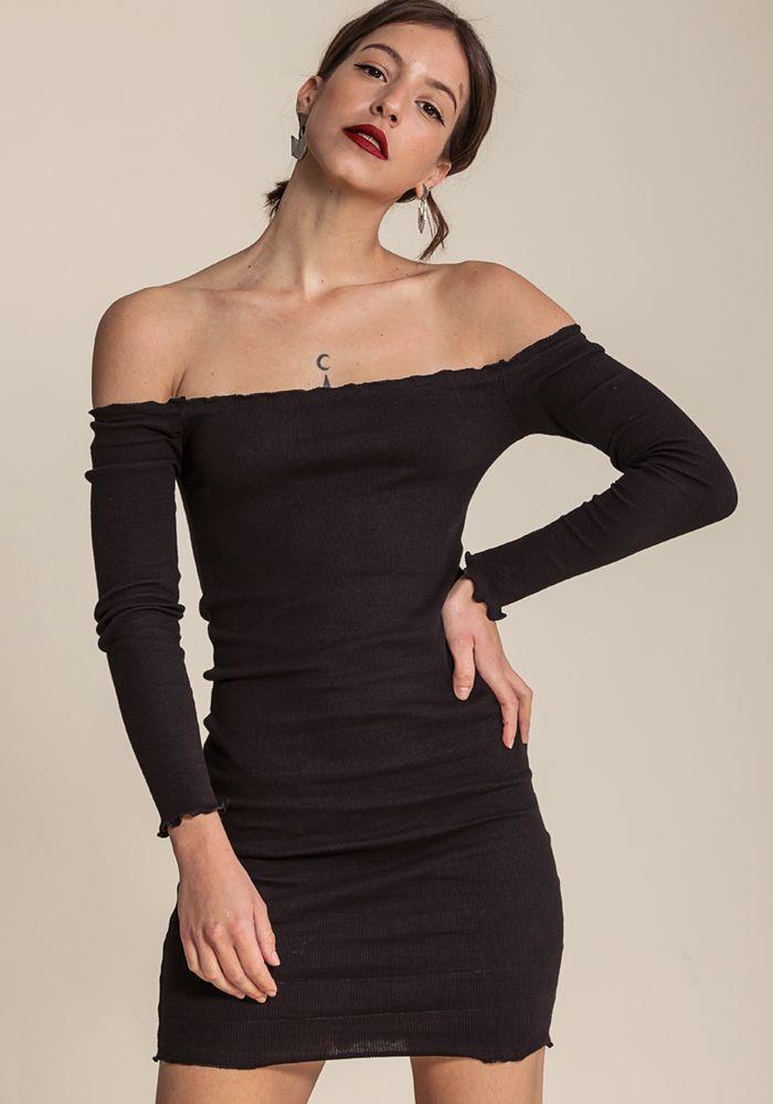 Indiana Noir Dress by myfashionfruit.com