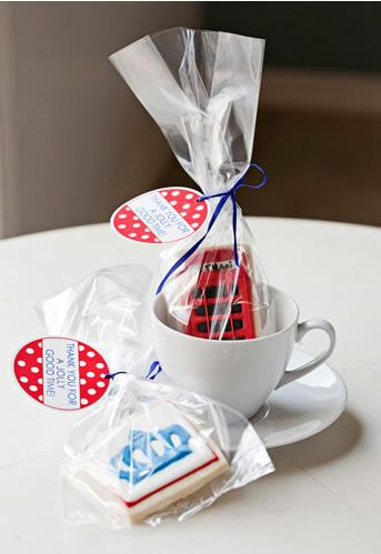 cute London themed party favors