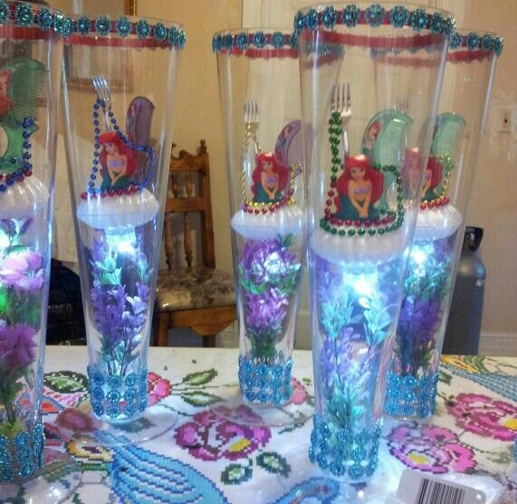 69 best melody 39 s 1st birthday ideas images on pinterest for Ariel decoration ideas