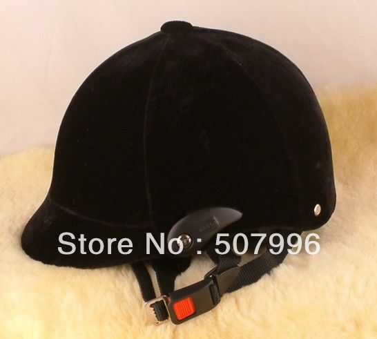 Adjustable Equestrian Riding Horse Helmet / Equestrian Riding Helmet Horse Sports Helmet Equestrainism Helmet Black