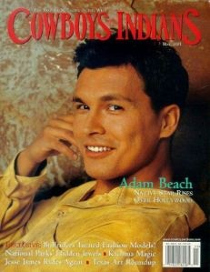 Adam Beach – So cute;)