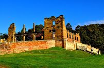 Ruins of the Hospital at Port Arthur's Historic Site, Tasmania