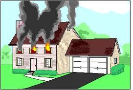 Fire safety inside the home