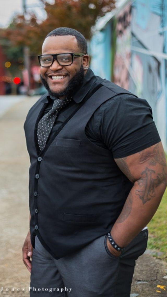 Image result for black plus size male models with beard