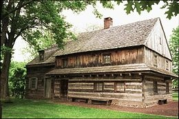 The Morgan Log House where Daniel Boone was born in 1734 was less than a mile from our home in Lansdale, Towamencin Township, Montgomery County, PA.