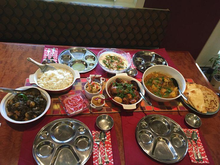 A stunning Indian tablescape @khaanasutra30 perfect.