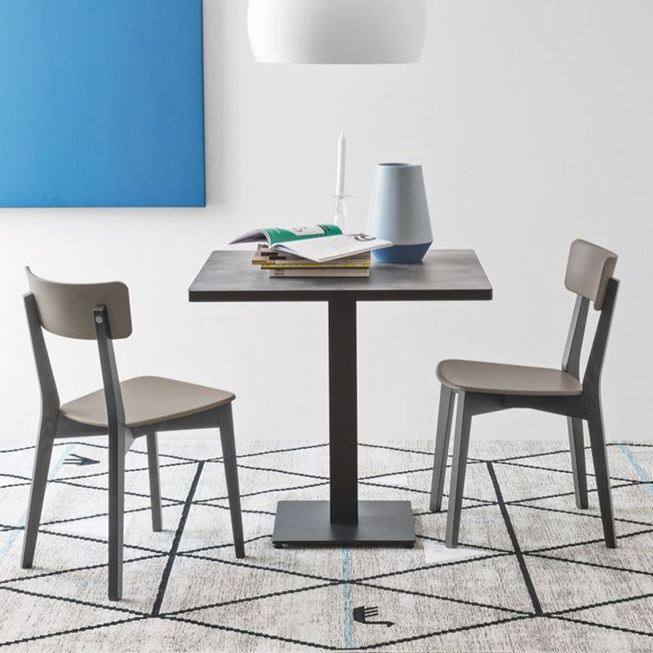Jelly Chair by Connubia Calligaris. A modern twist on a traditional cafe chair.