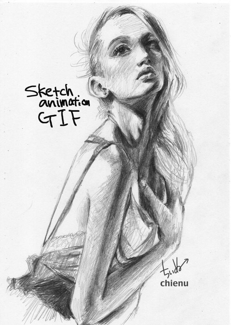 Sketch08042017GIF by chienu.deviantart.com on @DeviantArt