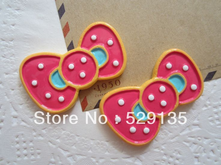 Find More Figurines & Miniatures Information about Free Shipping! Resin Kawaii Bow, Resin Flat Back Cabochons for Hair Bow Center, DIY (30*49mm),High Quality bow centers,China bow bow Suppliers, Cheap bow for hair from October (Min. order is $10, mix order) on Aliexpress.com