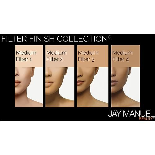 Jay Manuel Beauty® Powder to Cream Foundation - Medium Filter 3