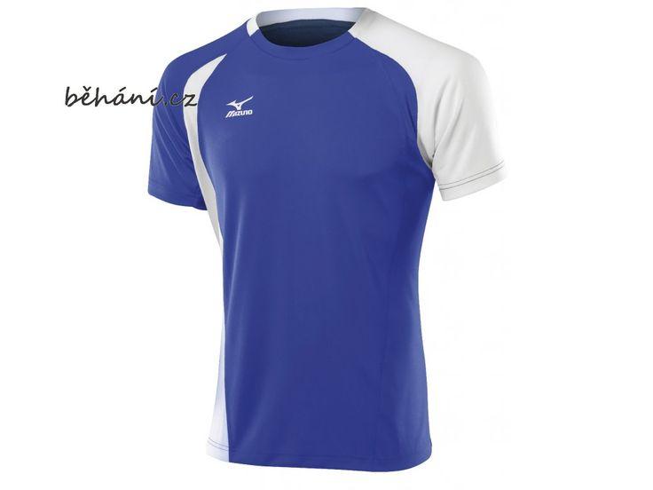 Tričko Mizuno TRAD Top 351 59HV351M27 . Pánské teamové tričko Mizuno TRAD Top 351 59HV351M27 v modro-bílém provedení. Vhodné na jakoukoliv sportovní aktivitu.