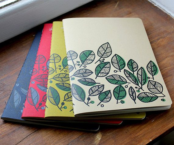 A5 Notebook Bundle w. Free shipping by notoshop on Etsy