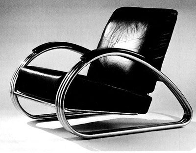 Bauhaus chair reminds me of those marvel villain boss. Very rich, comfortable smoking a cigar feeling