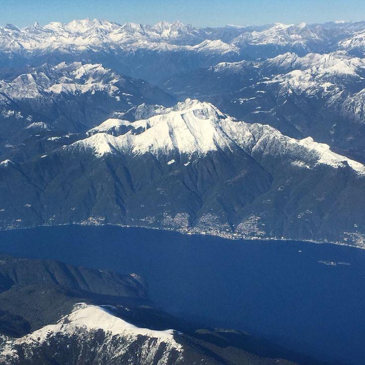 In volo sul Lago Maggiore - Switzerland Suisse Svizzera - 12 ottobre 2016