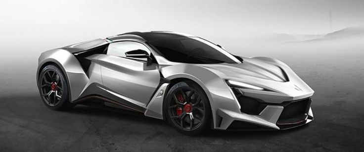 The New Fenyr SuperSport Supercar Presented in Dubai