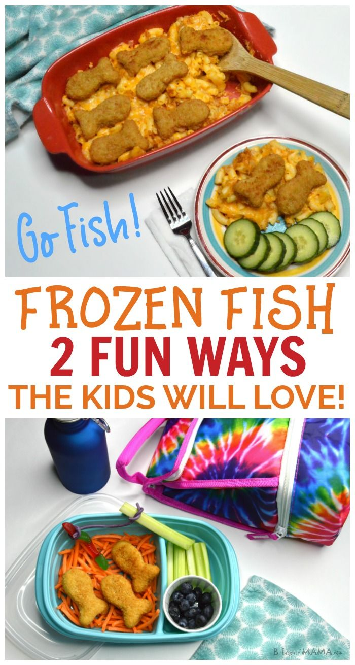 "Make the kids' meal FUN with the best fish in the freezer section from @youngsseafoodUSA at @Walmart and @Samsclub - Make a simple fish sticks inspired mac and cheese casserole or a super fun lunch for kids that will be having them ""Go Fish!"" -- #ad #recipe #dinner #kids #funfood #kidsinthekitchen #kidsrecipe #lunch #funlunch #macandcheese #casserole #easyrecipe #kbn #binspiredmama"