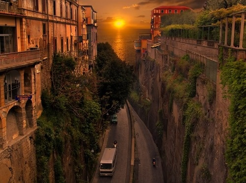 Sunset, Sorrento, Italy  photo via whitemissFavorite Places, Dreams, Sorrentoitali, Sunsets, Sunris, Beautiful Places, Beautiful Sunset, Things Italian, Sorrento Italy