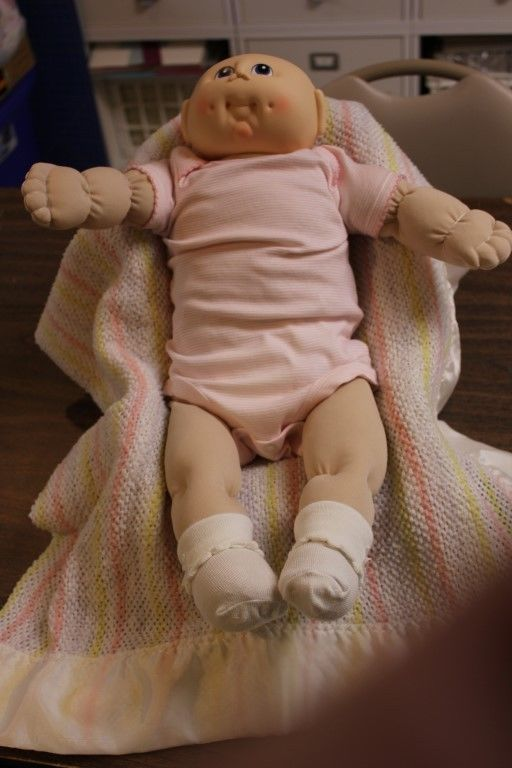 Handmade Cabbage Patch Baby Doll CP-1 #CabbagePatchKids