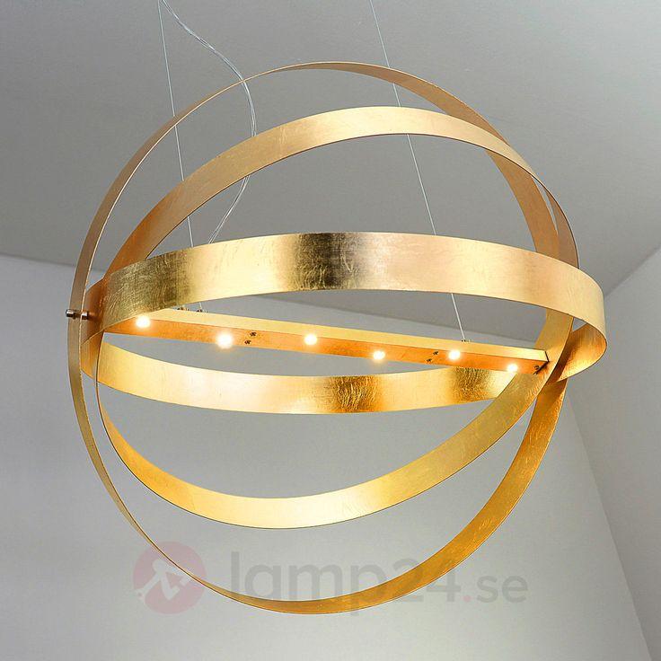 LED-hänglampan Cara imponerar med sin extravaganta formgivning