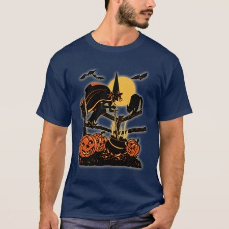Vintage Halloween T-Shirt - tap, personalize, buy right now!
