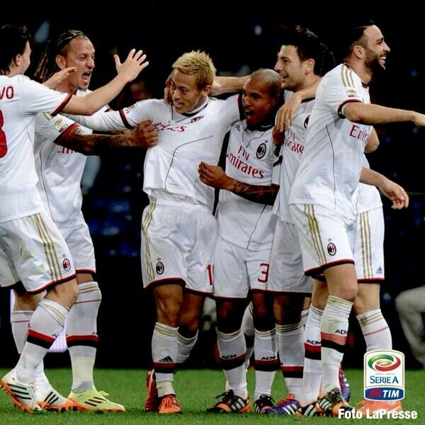 Love their smile #forzamilan