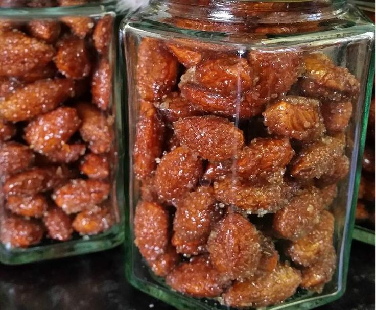 Honey Cinnamon Roasted Almonds by cake cook on www.recipecommunity.com.au